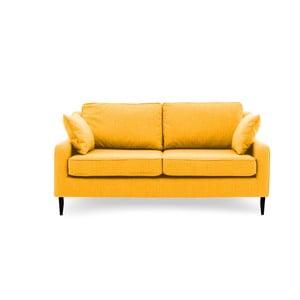 Žlutá trojmístná pohovka Vivonita Bond