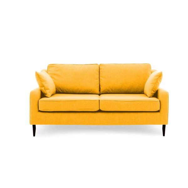 Canapea cu 3 locuri Vivonita Bond, galben