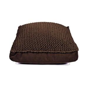 Hnědý sedací polštář HF Living Nature Square