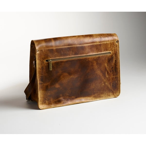 Pánská kožená taška Coach Messenger, 39 cm