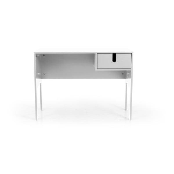 Bílý pracovní stůl Tenzo Uno