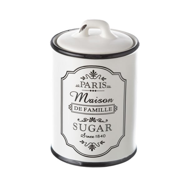 Recipient ceramic pentru zahăr Unimasa Paris