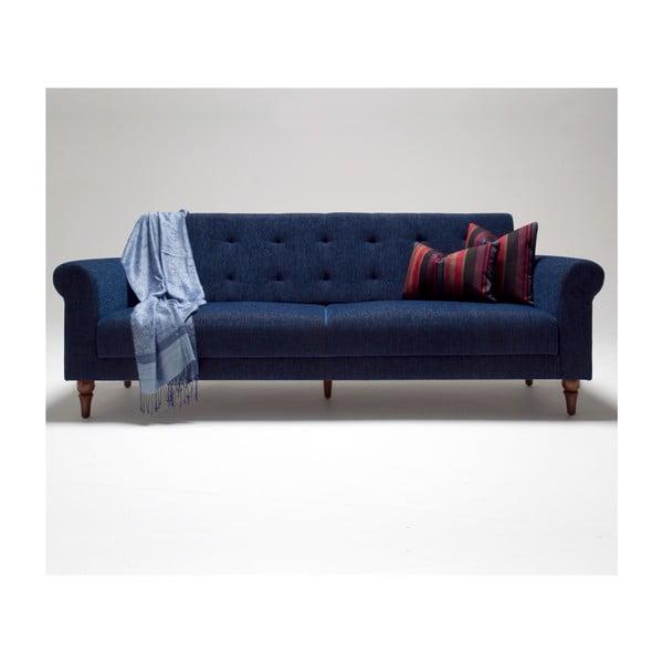 Modrá rozkladacia pohovka Balcab Home Gina