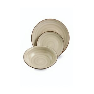Sada velkých talířů Baita Grigio, 6 ks