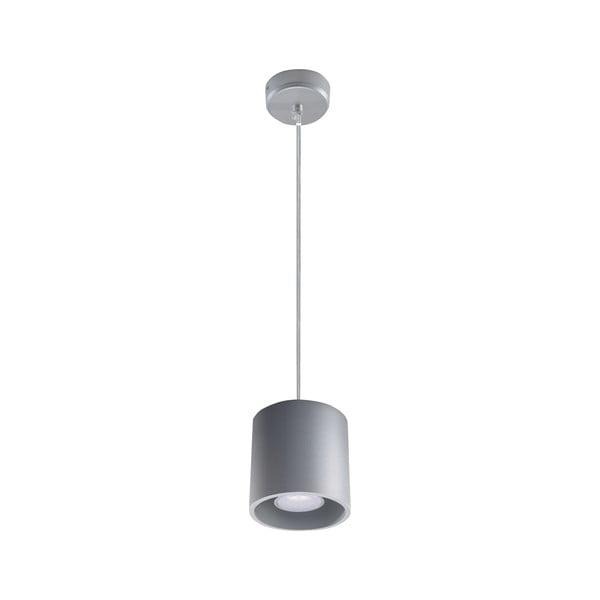 Šedé závěsné svítidlo Nice Lamps Roda
