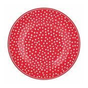 Farfurie cu puncte Green Gate Dot, ⌀ 15 cm, roșu