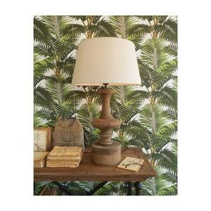 Stolní lampa z mangového dřeva Orchidea Milano Alessandro, ⌀ 45 cm