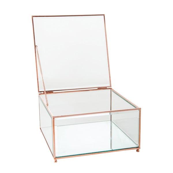 Šperkovnice Jewel Glass, 23x23 cm