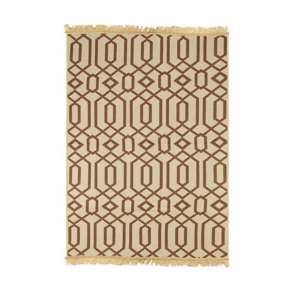 Béžový koberec Ya Rugs Kenar, 60x90cm