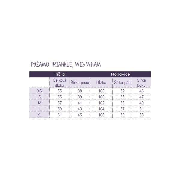 Pyžamo Wig Wham, velikost M