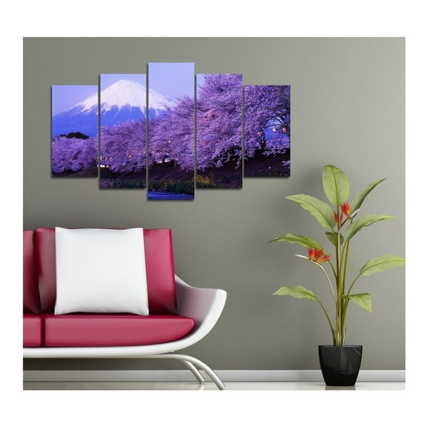 Palissa többrészes kép, 102x60cm - 3D Art