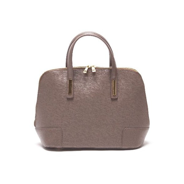 Kožená kabelka Renata Corsi 418 Fango