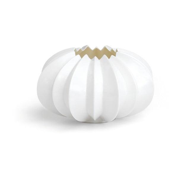 Bílý porcelánový svícen Kähler Design Stella, ⌀ 13,5 cm
