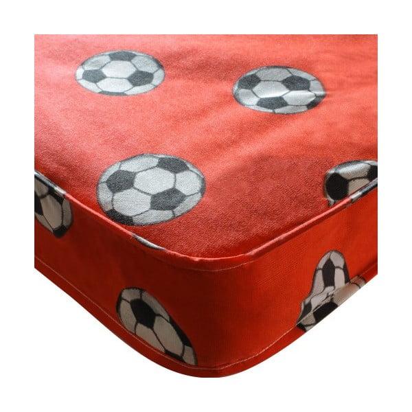 Dětská matrace Football Single Red, 190x90x15 cm
