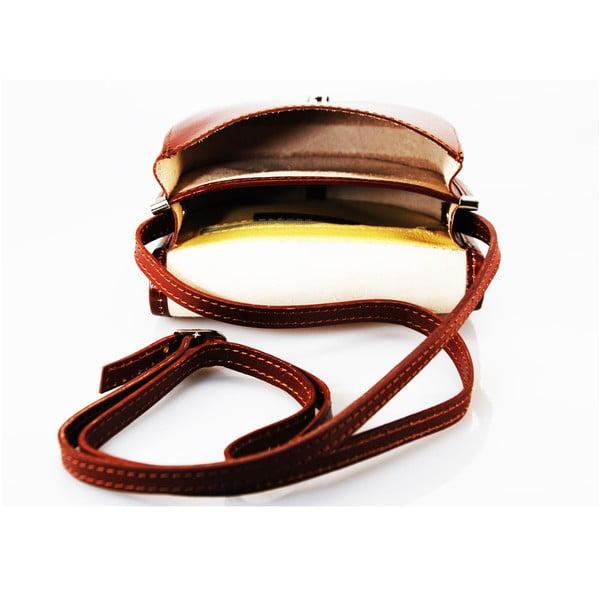 Kožená kabelka Pisa Marrone