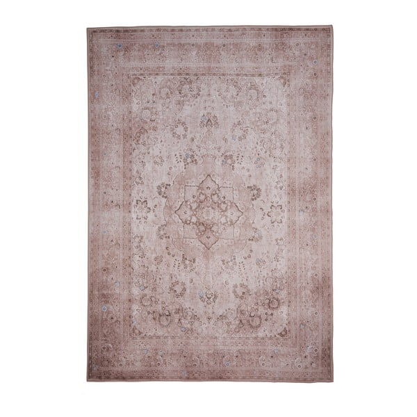 Covor Floorita Keshan Cream, 80 x 150 cm, maro deschis
