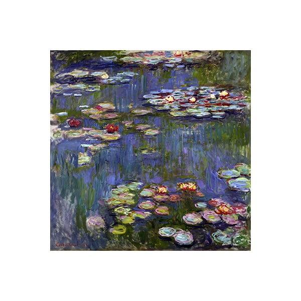 Reproducere tablou Claude Monet - Water Lilies 3, 70 x 70 cm