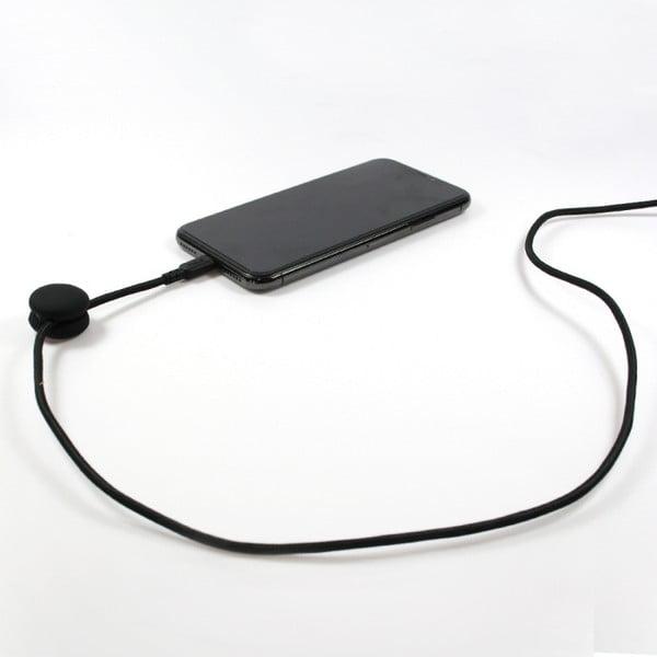Černý nabíjecí USB kabel pro Apple Philo Energy, délka 2 m