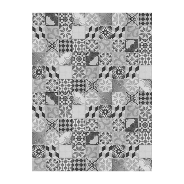 Vinylový koberec Mosaico Vintage Gris, 100x150 cm