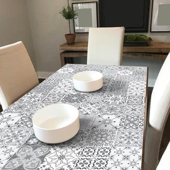 Set 60 autocolante de mobilier Ambiance Tiles Virginio, 15 x 15 cm de la Ambiance