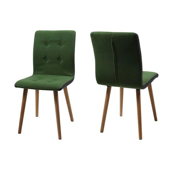 Jídelní židle Frida, zelená