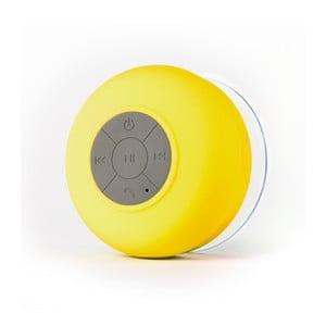 Reproduktor vhodný do sprchy FRESHeTECH Splash Tunes, žlutý