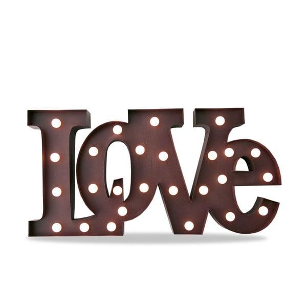Světelná dekorace Letters LOVE