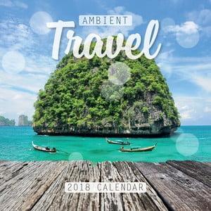 Nástěnný kalendář pro rok 2018 Portico Designs Ambient Travel
