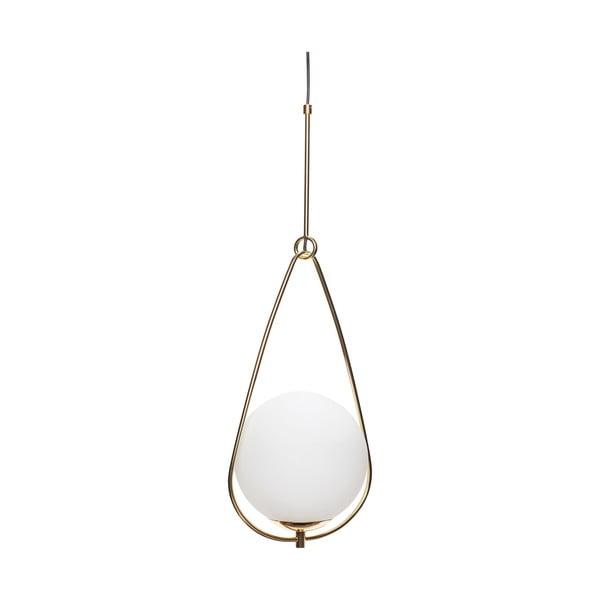 Biele závesné svietidlo Hübsch Lumino