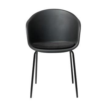 Scaun Unique Furniture Topley, negru-gri