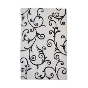 Ručně vyráběný koberec The Rug Republic Trellis Ivory, 160 x 230 cm