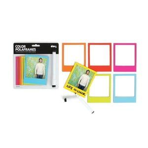 Magnetické rámečky Polaroid Color