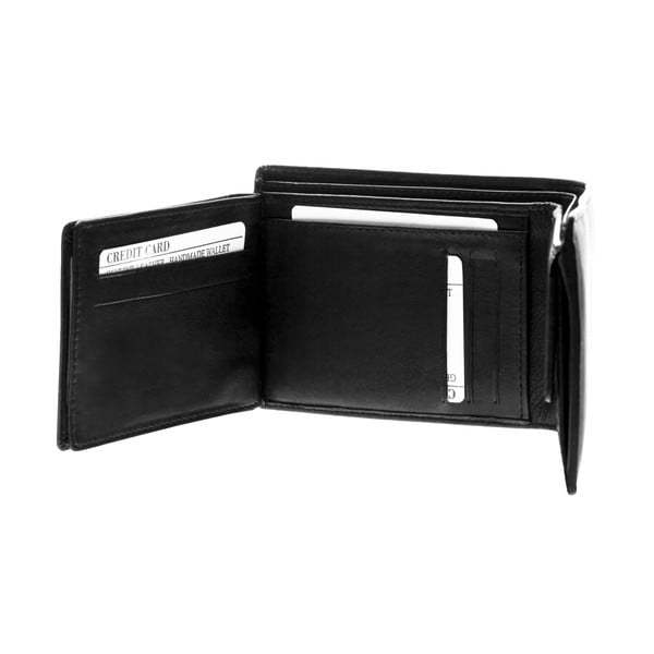Kožená peněženka Continuum 1505, dvojité prošívání