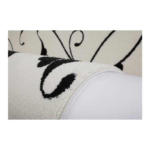 Černobílý koberec Obsession My Black & White Baw Whit, 80 x 150 cm