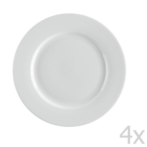 Sada 4 porcelánových dezertních talířů Sola Lunasol, 21cm