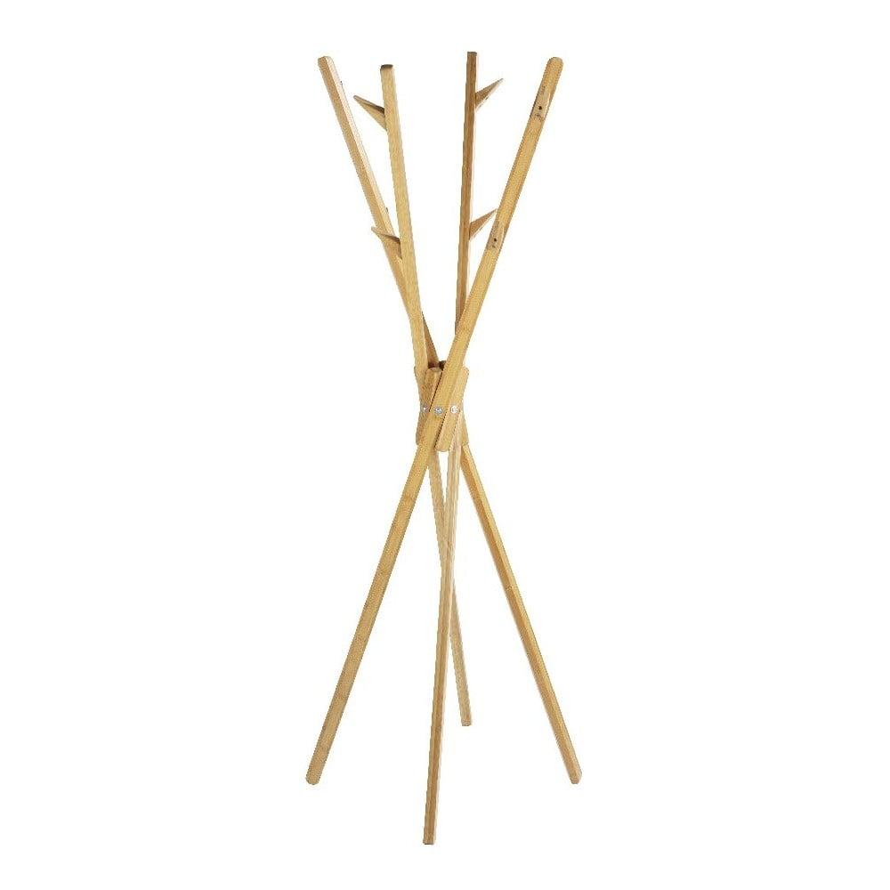Věšák z bambusového dřeva Wenko Mikado, výška 170 cm