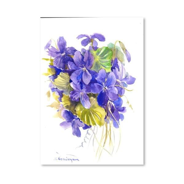 Plakát Violets od Suren Nersisyan