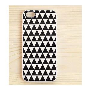 Obal na iPhone 4/4S, Triangles Black&White