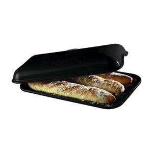 Pepřově černá forma na pečení baget Emile Henry