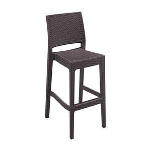 Barová židle Jamaica, hnědá
