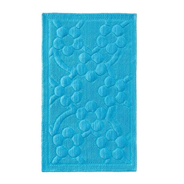 Předložka do koupelny Papatya Turquoise, 60x100 cm