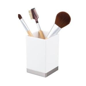 Bílý organizér na kosmetiku iDesign Clarity