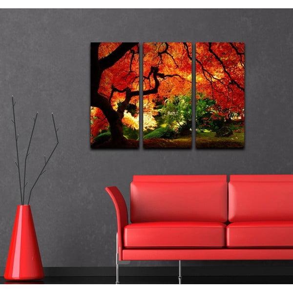 3dílný obraz Podzimní lahoda