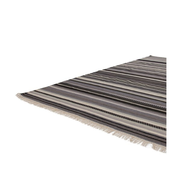 Vlněný koberec Atacama 80x150 cm, šedý