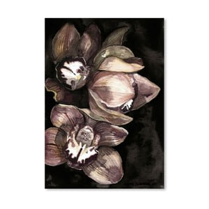 Poster Americanflat Rusted Orchid by Claudia Libenberg, 30 x 42 cm