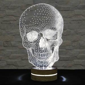 3D stolní lampa Skull Classic