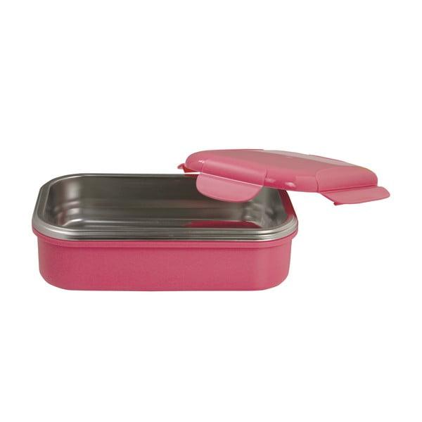 Růžová termoizolační miska na oběd Pioneer Lunchbox