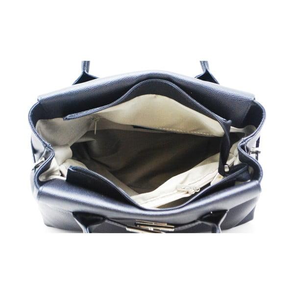 Kožená kabelka Kelly Nero