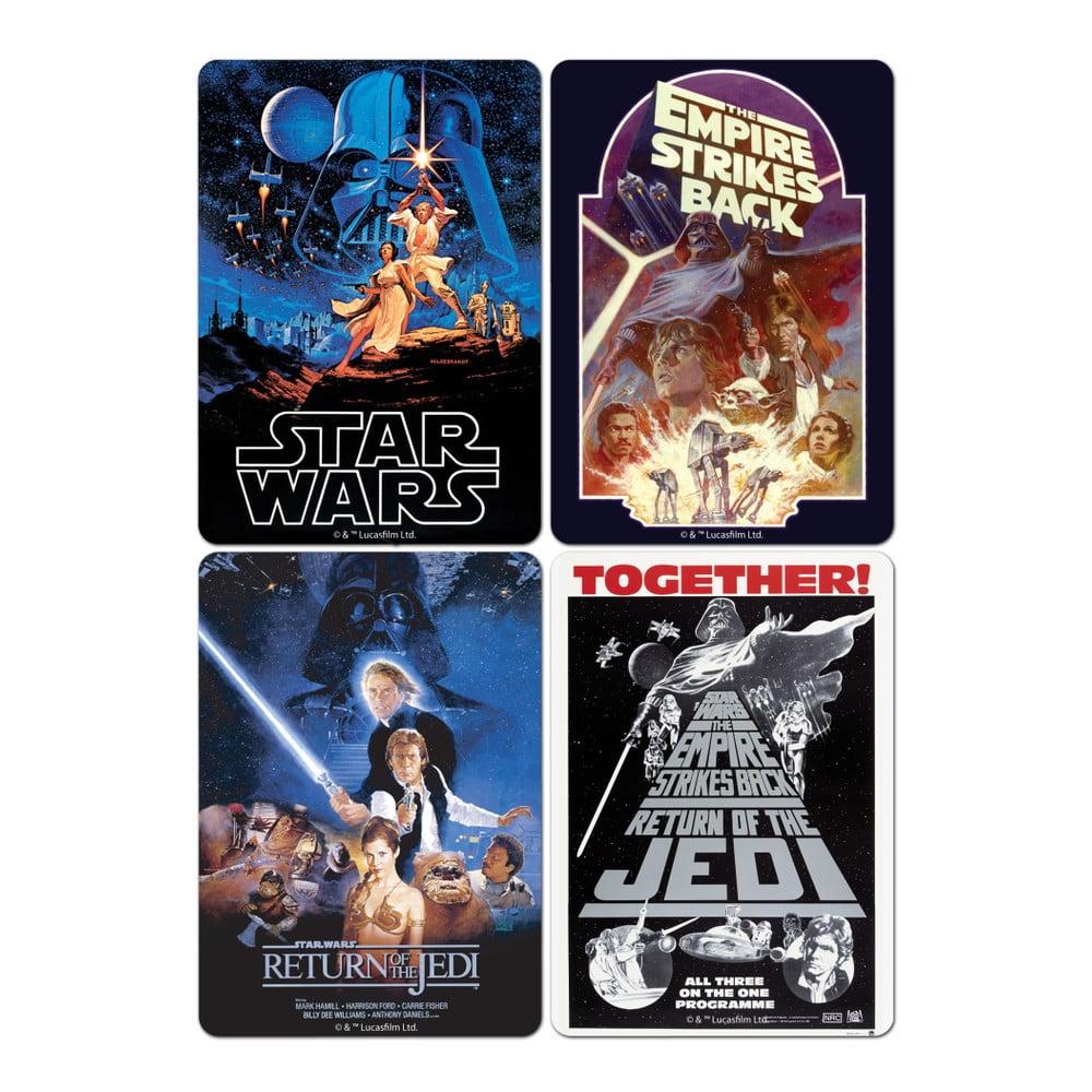 Sada 4 podtácků Star Wars™ Film Posters