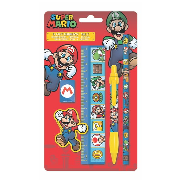 Sada papírnických potřeb Pyramid International Super Mario